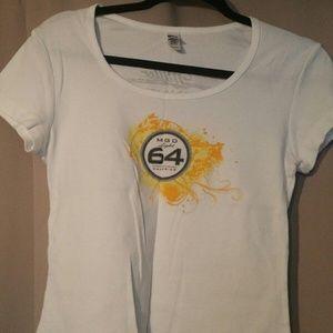 MGD Miller Genuine Draft Ladies T- shirt Bar Theme